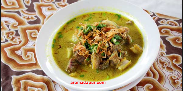 Cara Membuat empal gentong, Sejarah empal gentong, Bumbu empal gentong, Makanan khas Cirebon, Empal Gentong khas Cirebon aromadapurdotcom