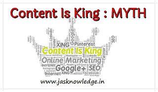 Content Is King Myth
