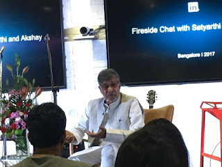 LinkedIn hosts Nobel Peace Laureate Kailash Satyarthi