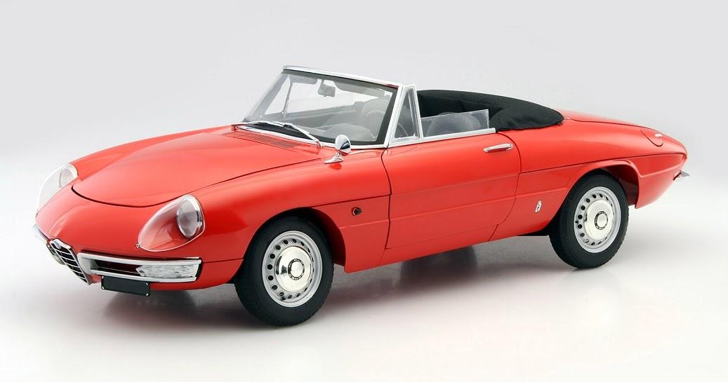 Modellauto News Gro 223 Es Ding Modellauto Alfa Romeo Spider