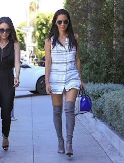 Olivia Munn wore High Heels Boots Sexy Fashion 4.jpg