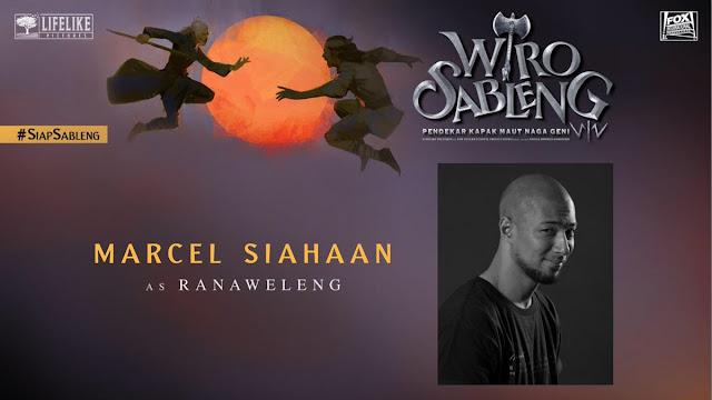 Marcel Siahaan sebagai Ranaweleng/ Sumber foto @LifeLikePictrs