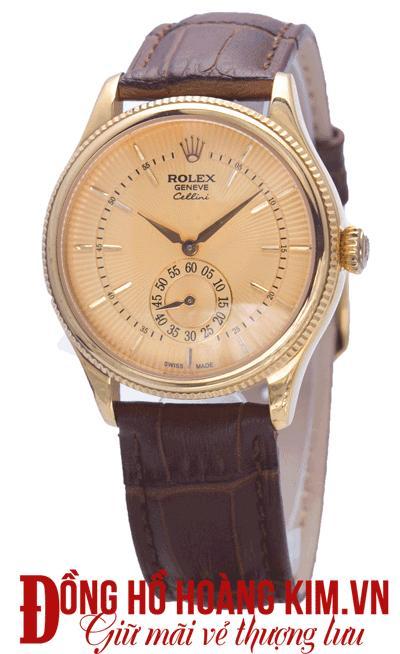 mua đồng hồ đeo tay nam dây da đẹp
