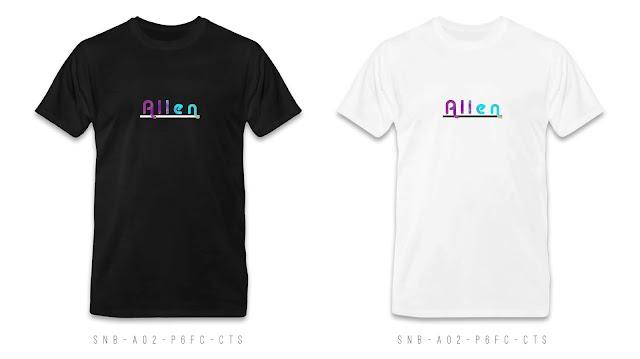 SNB-A02-P6FC-CTS Name T Shirt Design, Custom T Shirt Printing