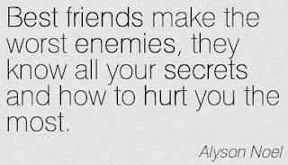 best friend worst enemies