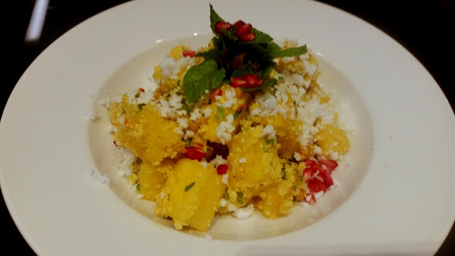 Curried Pineapple Salad with Coconut Dressing