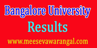 Bangalore University BBA Results 2016 Download