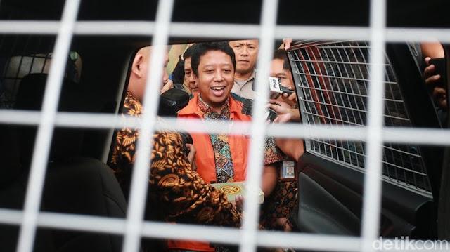 Sakit, Rommy Dibantarkan di RS Polri sejak 2 April