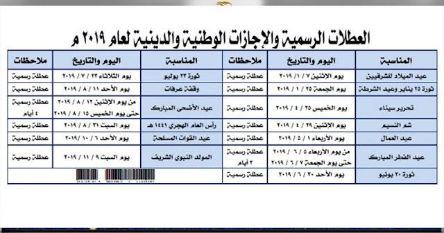 موعد عيد الاضحى المبارك 2019