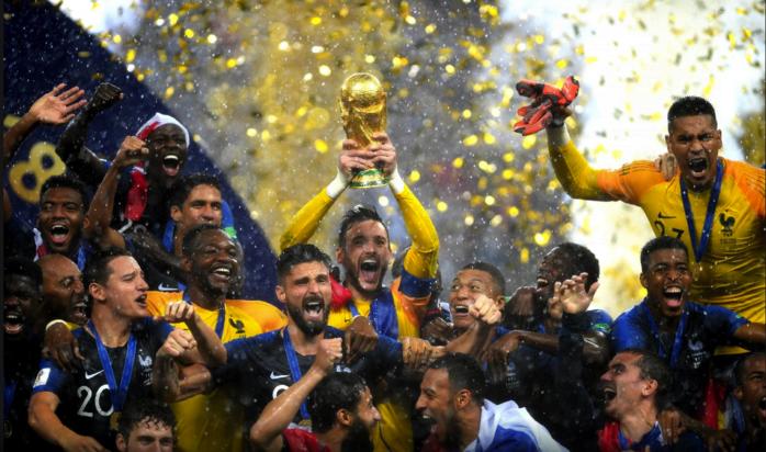 França é a grande campeã da Copa do Mundo