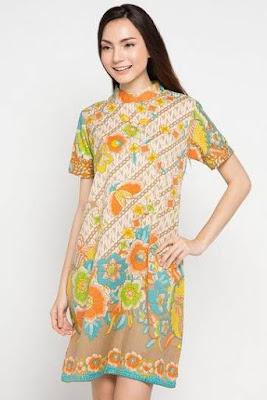 Batik Casual Wanita Terbaru