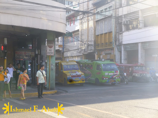 Polluted Calle Colon in Cebu City