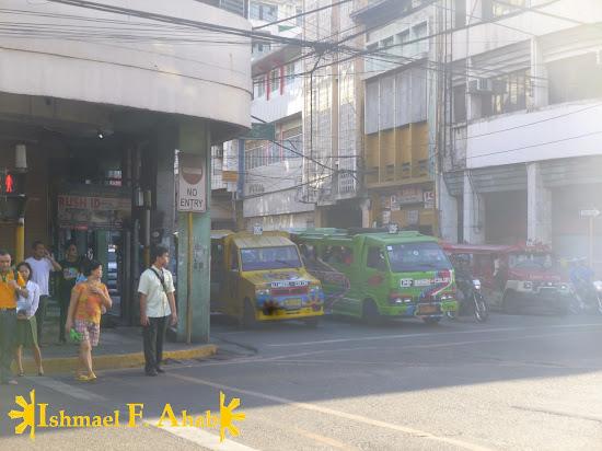 Polluted Calle Colon in Cebu City