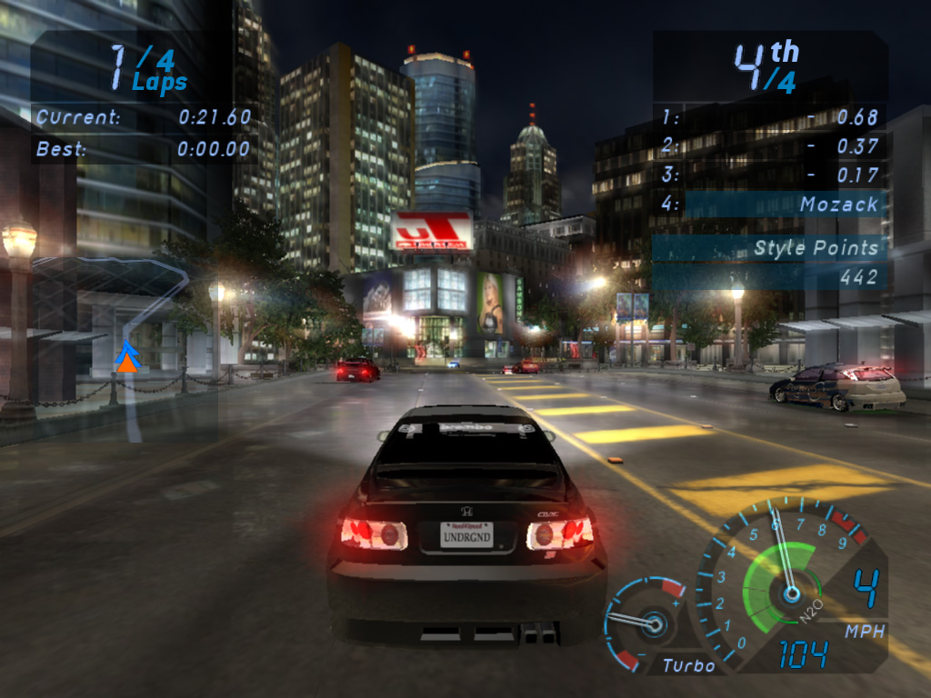 Need For Speed Underground Full Version Free Download PC