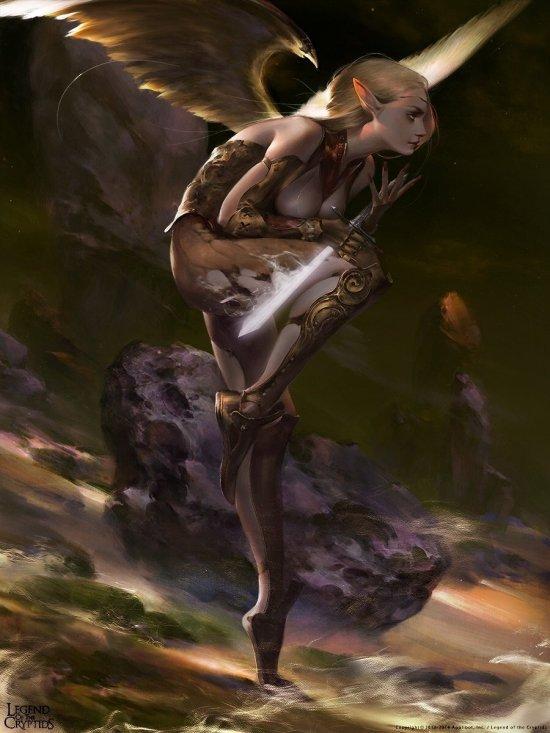 Mingzhu Yang artstation deviantart ilustrações fantasia chinesa games legend of the cryptids