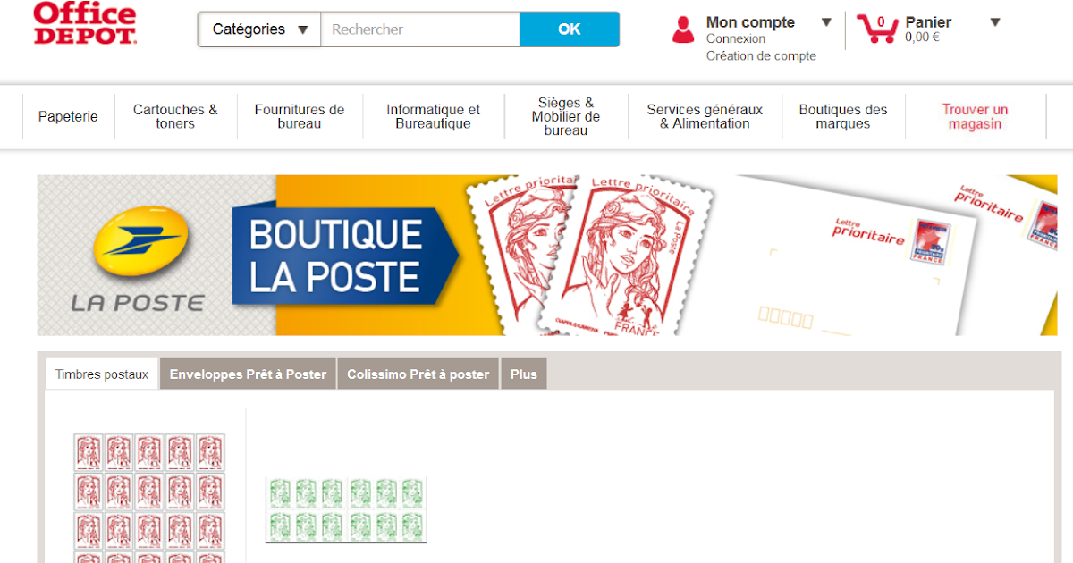 Blog philat lie timbres et pap en vente sur les sites de for Vente de fourniture de bureau