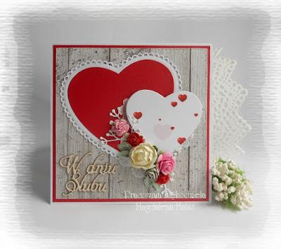 Ślubna z sercami…