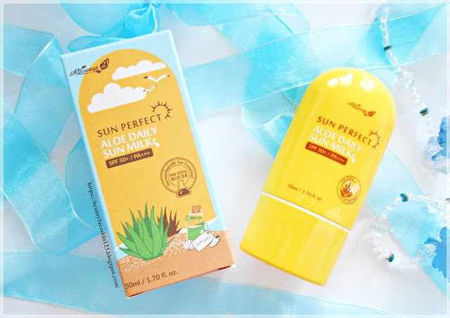 Always21 Sun Perfect Aloe Daily Sun Milk