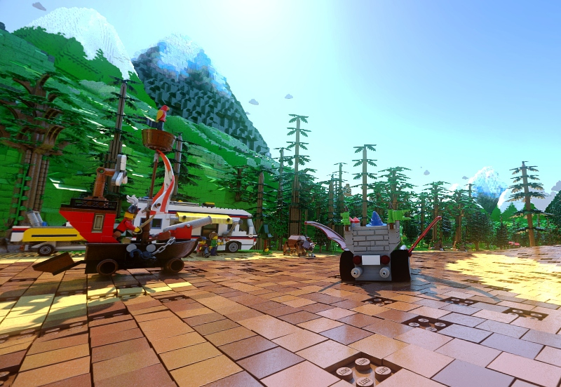 world first lego virtual reality roller coaster