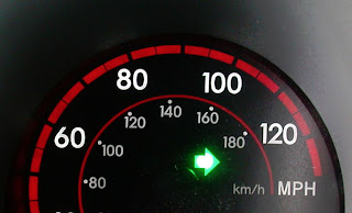Turning Signal indicator light on car arrow