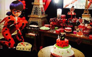 Festa de Aniversário Ladybug simples