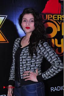 Actress Mannara Chopra Stills in Jeans at Sparx 2017 Curtain Raiser Event  0140.JPG