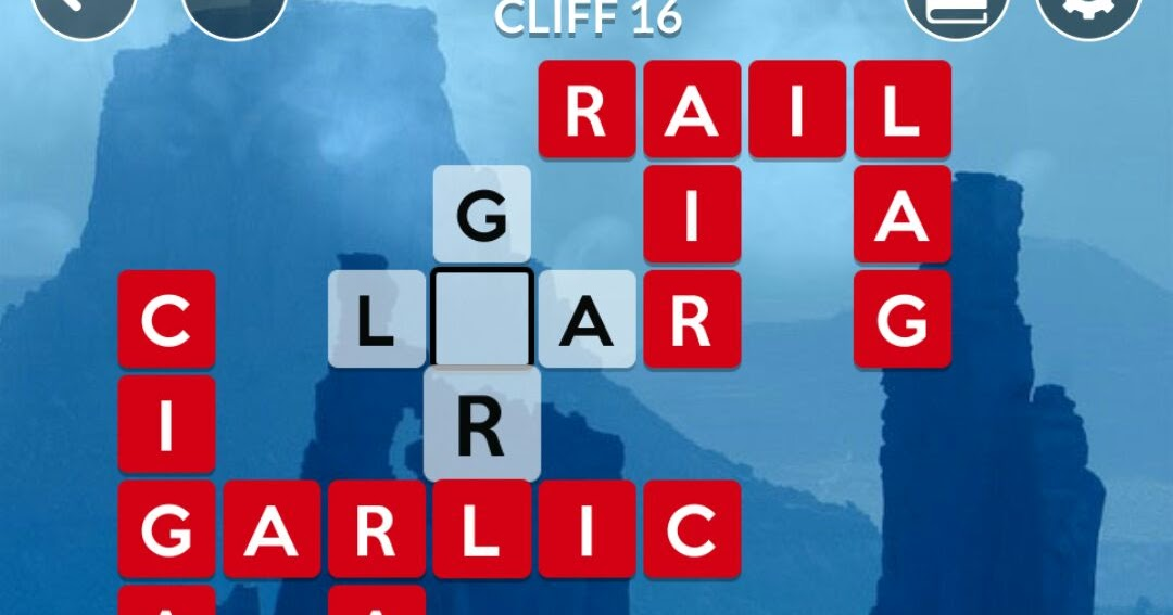 The Best Wordscapes 144 Cliff 16 Background