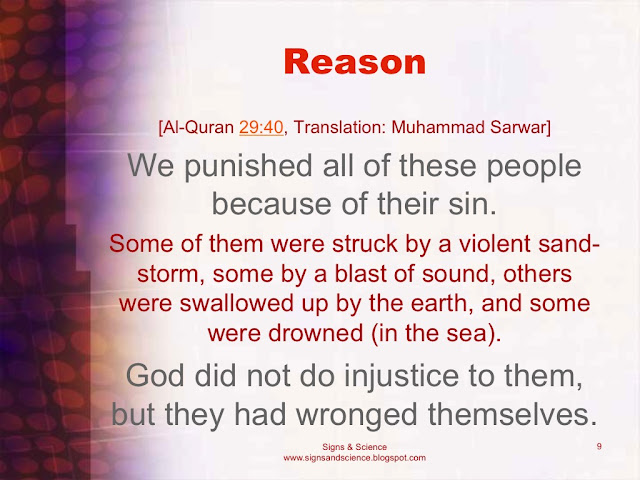 God did not do injustice to them, but they had wronged themselves
