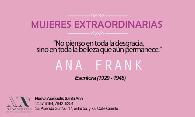 Frase de Ana Frank