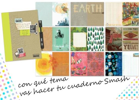 cuadernos, smash book,cuadernos Smash, scrapt, journal, libretas, cuaderno de viaje