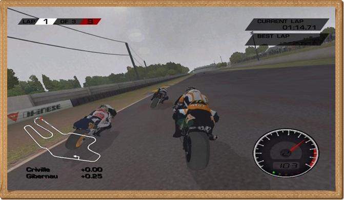 MotoGP 1 PC Games Gameplay