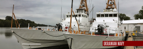 Ukraine to get U.S. patrol boats summer