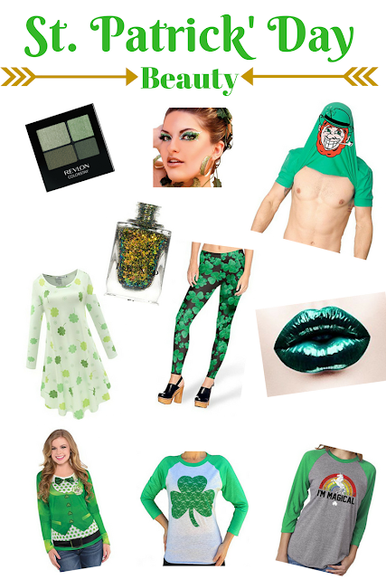 Saint Patrick's Day fashion and beauty