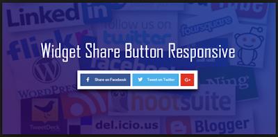 Cara Membuat Tombol Share Melayang di Kiri Blog