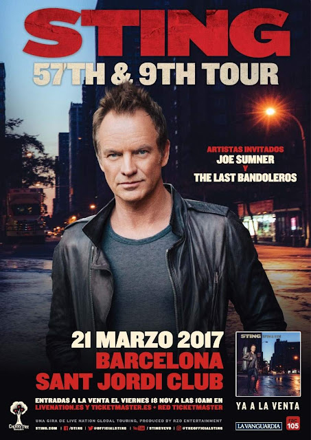 Sting - '57th & 9th Tour'