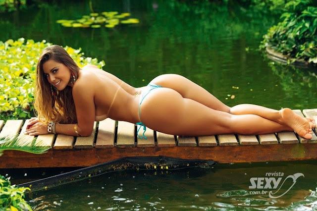 Fotos de Aricia Silva nua pelada na Sexy
