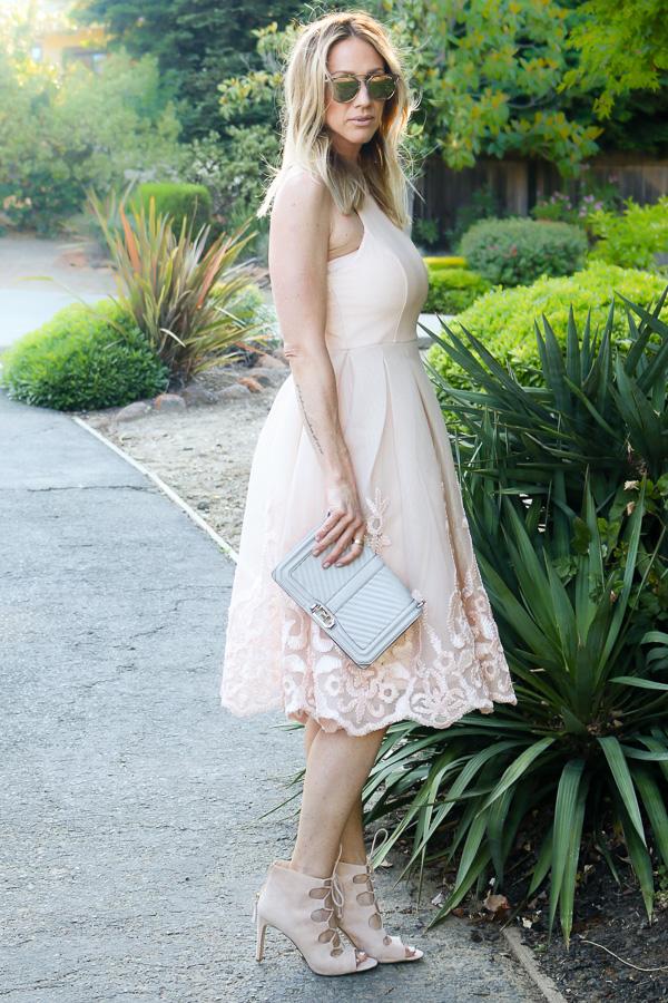 spring midi dress