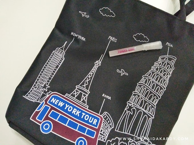 Menang Giveaway Travel Totebag By Ana Suhana