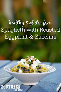 Gluten Free Roasted Vegetable Spaghetti Recipe