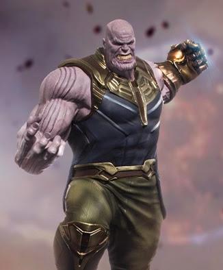 Iron Studios Concept Store São Paulo Thanos