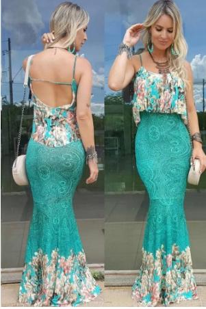 0ba8c0ddeda2 ... o vestido pode ir desde um evento descontraído de dia, quanto uma festa  mais elegante. Na Vitrine Outlet da para encontrar o vestido perfeito para  você, ...