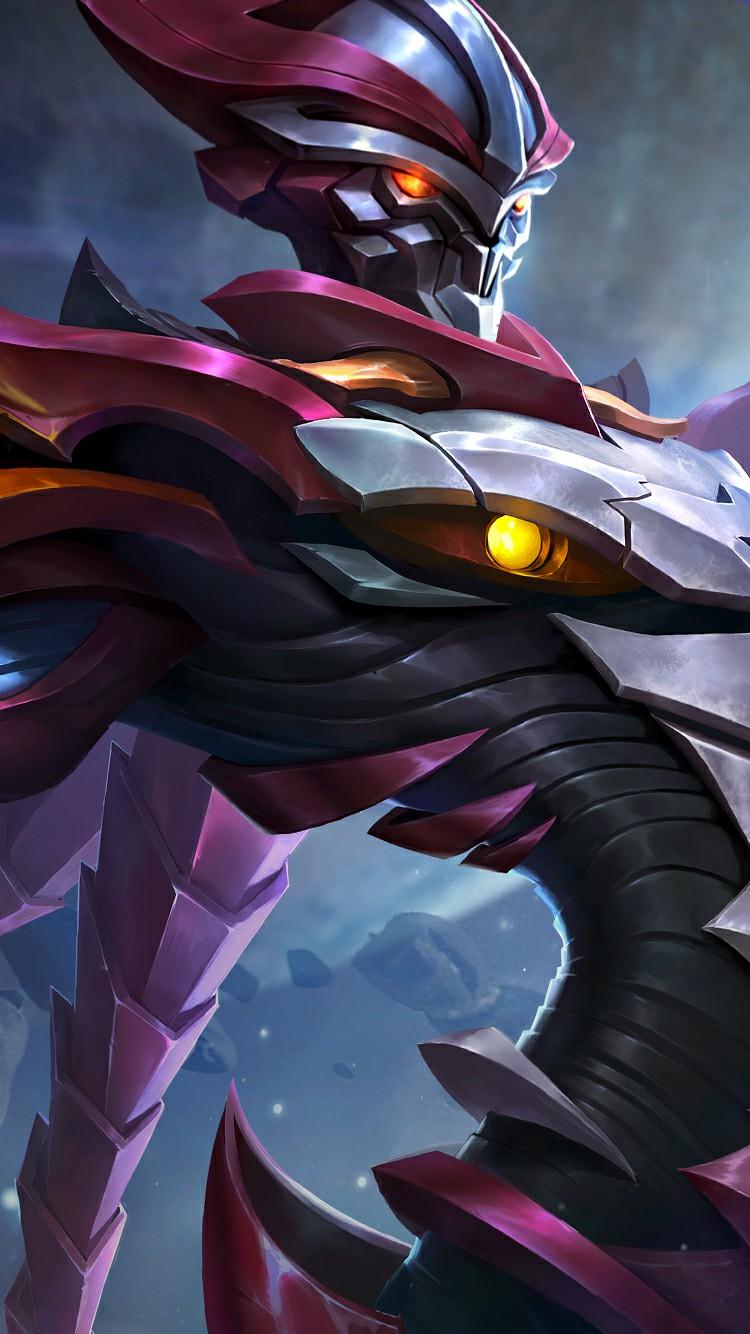 Wallpaper Zhask Crystallized Predator