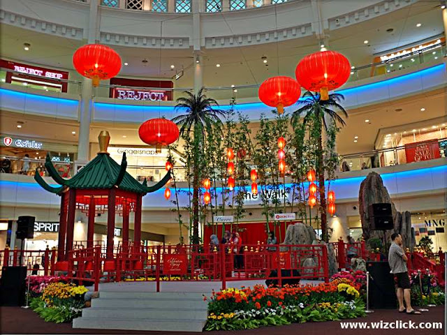 The Curve Shopping Mall 2013 Chinese New Year Theme Celebration of Spring Decoration.