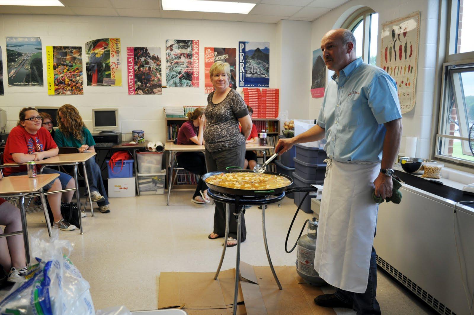 New Richmond School News Spanish Students Get Taste Of Spain