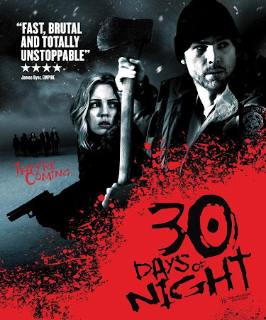 Poster Of 30 Days of Night In Dual Audio Hindi English 300MB Compressed Small Size Pc Movie Free Download Only At worldfree4u.com