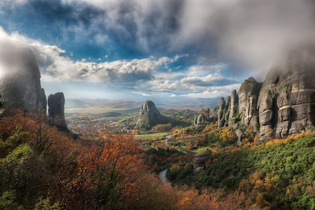 Meteora city greece, Greece best places, The Valley of Fog city Meteora, Greece