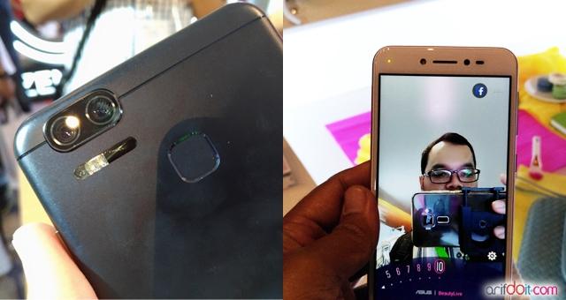 User experience bisa Hands on Zenfone Zoom S dan Zenfone Live