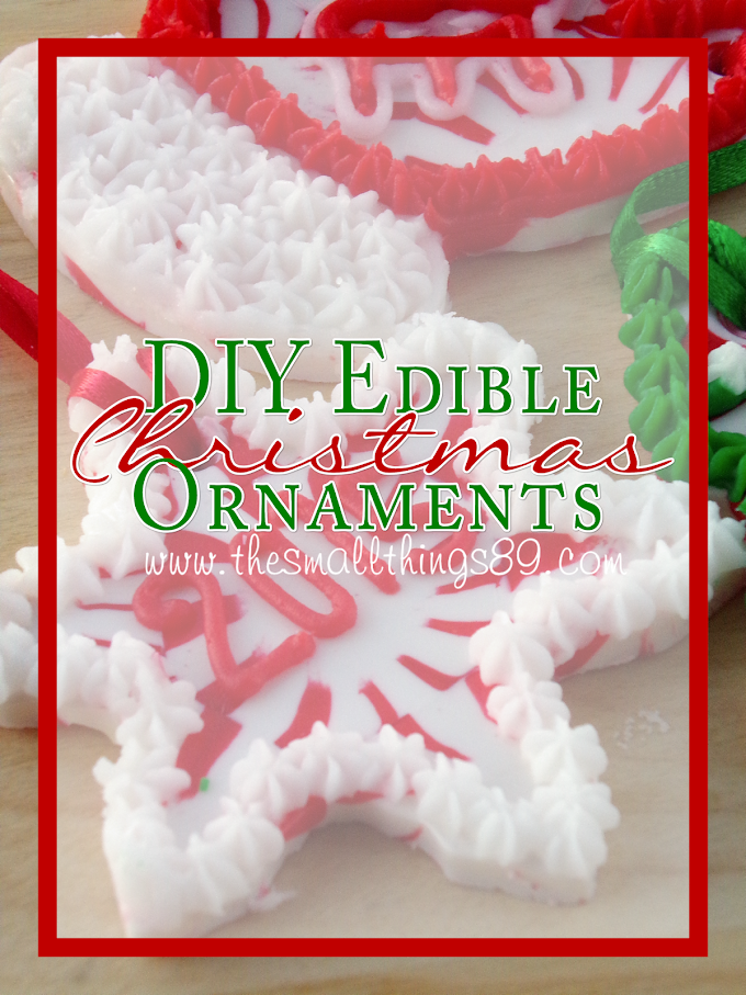 Wow Your Guests With These #DIY Adorable & Edible Christmas Ornaments!