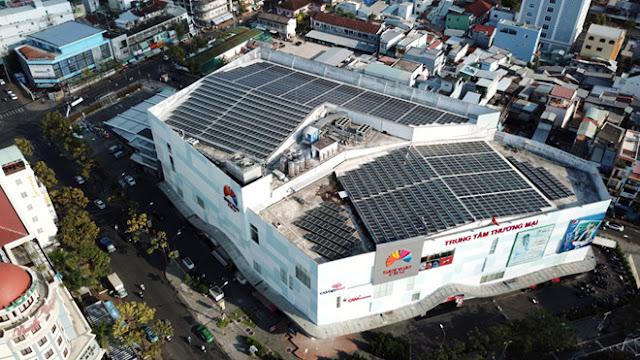 Điện mặt trời mái nhà, giải pháp xanh - sạch - tiết kiệm cho lĩnh vực công - thương nghiệp