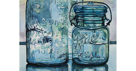 JARS AND BOTTLE